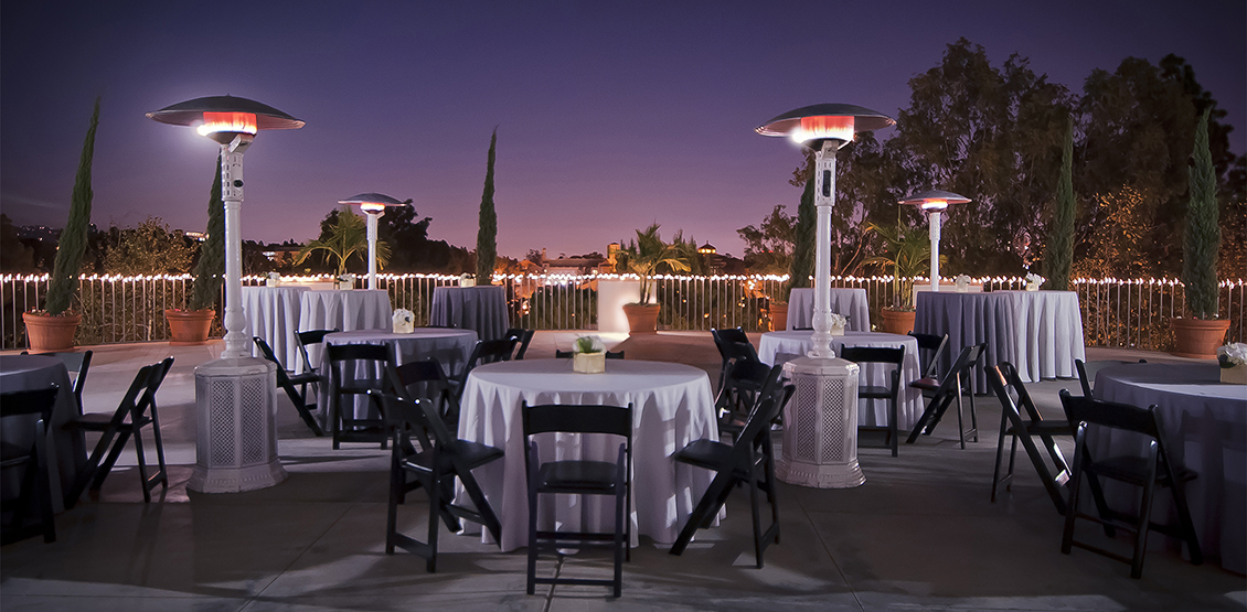 World class conference venues and catering is available for our guests at UCLA