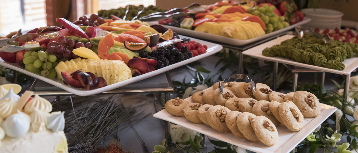 UCLA Conferences and Catering dishes